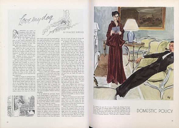 Article Preview: Love My Dog, November 1 1934 | Vogue