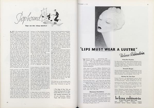 Article Preview: Shop-hound: Tips on the Shop Market, November 1 1934 | Vogue