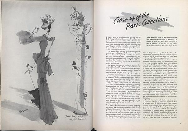 Article Preview: Close-up of the Paris Collections, March 15 1935 | Vogue