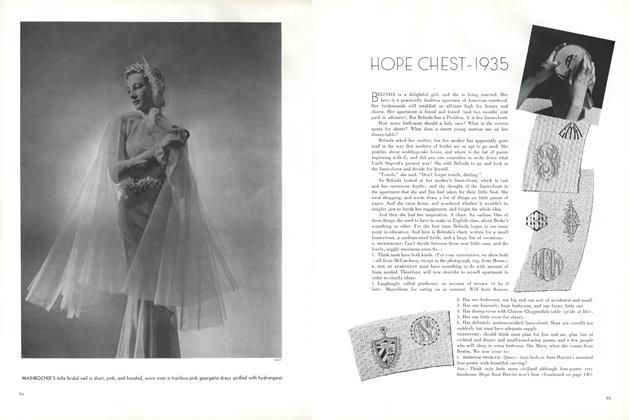 Hope Chest—1935
