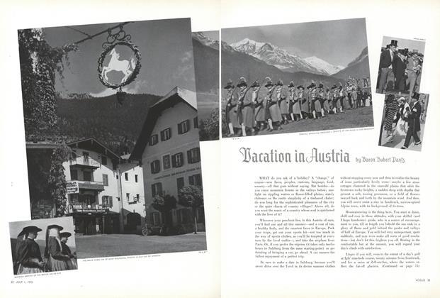 Vacation in Austria