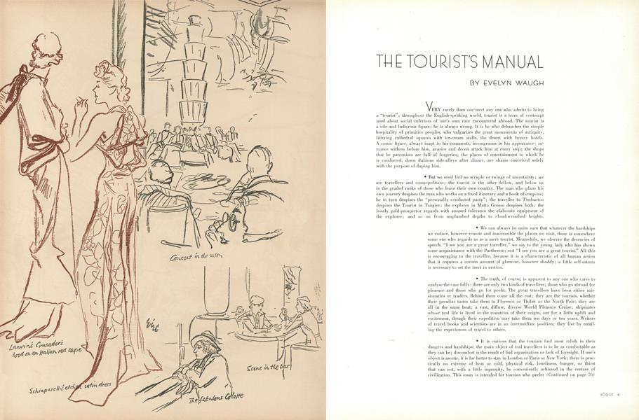 The Tourist's Manual