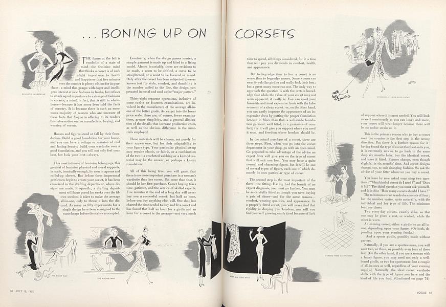 ...Boning Up on Corsets