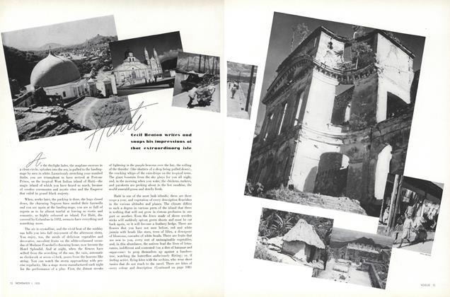 Article Preview: Haiti, November 1 1935 | Vogue
