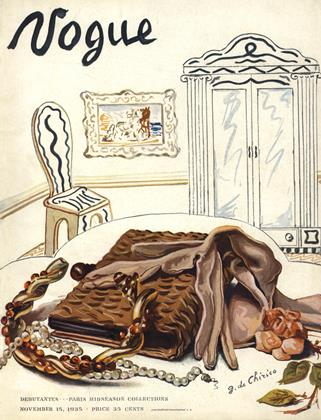 Cover for the November 15 1935 issue