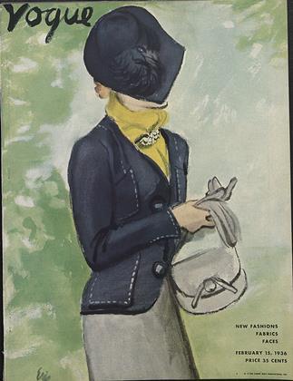 FEBRUARY 15, 1936 | Vogue