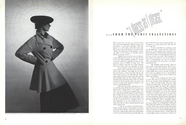 """""""I Dress as I Please"""" ...from the Paris Collections"""