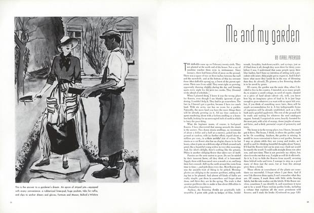 Article Preview: Me and My Garden, May 1 1936 | Vogue