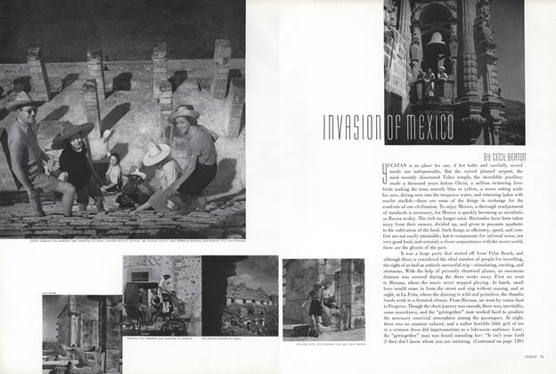 Article Preview: Invasion of Mexico, May 1 1936 | Vogue
