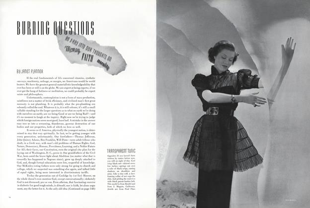 Article Preview: Burning Questions, May 1 1936 | Vogue