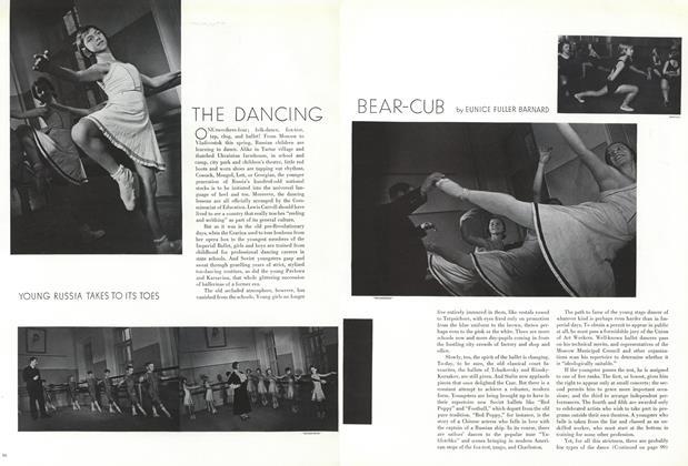 The Dancing Bear-Cub