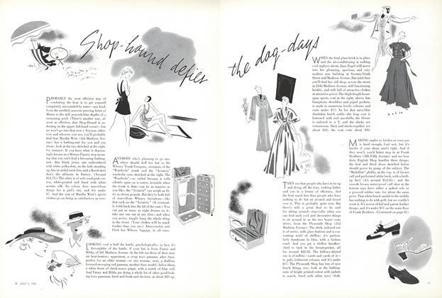 Shop-Hound Defies the Dog-Days