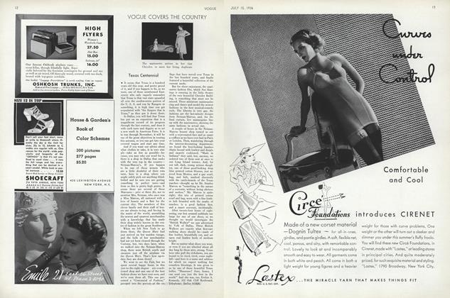 Vogue Covers the Country: Texas Centennial