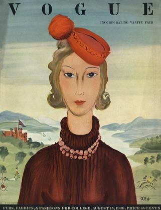 Cover for the August 15 1936 issue