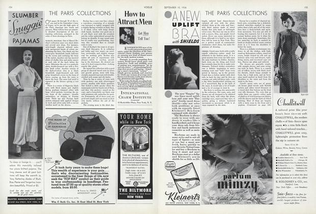 Article Preview: The Paris Collections, September 15 1936 | Vogue