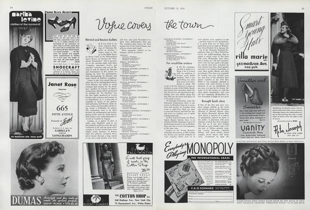 Article Preview: , October 15 1936 | Vogue