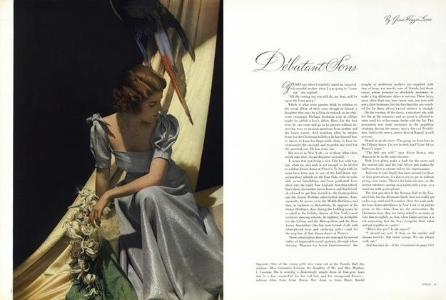 Article Preview: Debutant Sons, November 15 1936 | Vogue