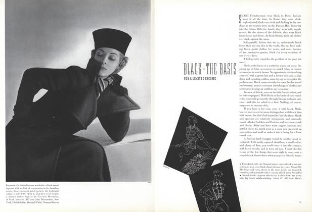 Article Preview: Black—The Basis for a Limited Income, November 15 1936 | Vogue