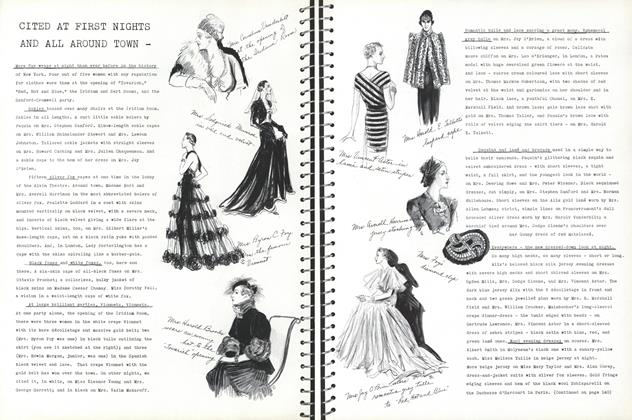 Article Preview: Cited at First Nights and All Around Town—, December 1 1936 | Vogue