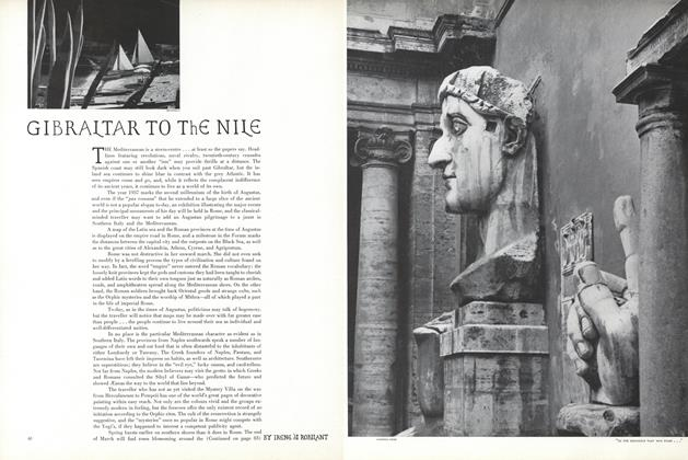 Article Preview: Gibraltar to the Nile, December 15 1936 | Vogue