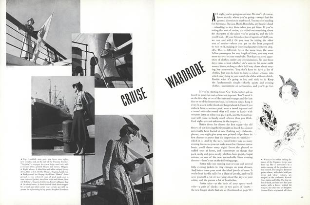 Article Preview: Cruise Wardrobe, December 15 1936 | Vogue