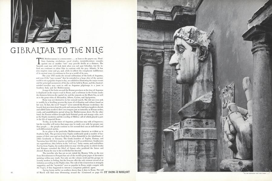 Gibraltar to the Nile