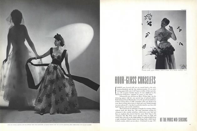 Hour-glass Corselets at the Paris Mid-Seasons/Merry Widow Revival