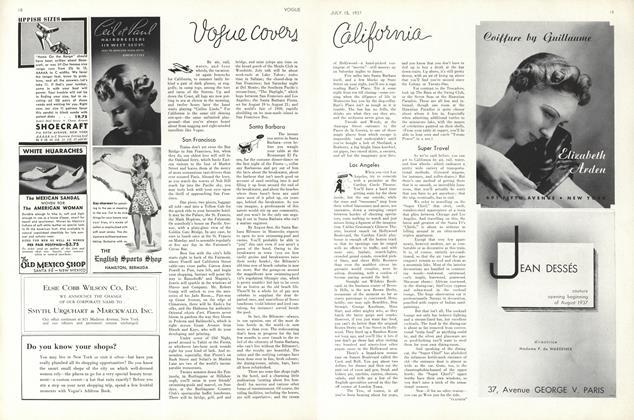 Vogue Covers California