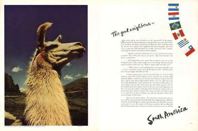 The Good Neighbour—South America