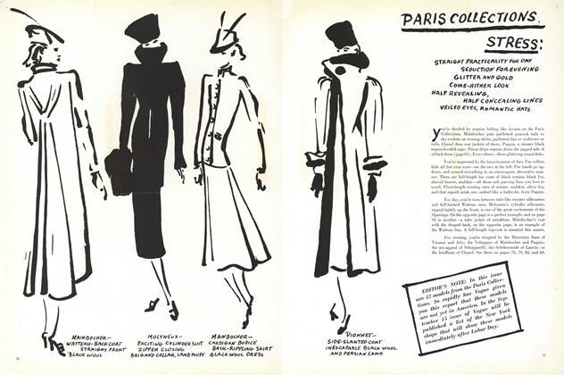 Paris Collections Stress: