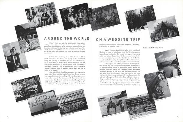 Around the World on a Wedding Trip