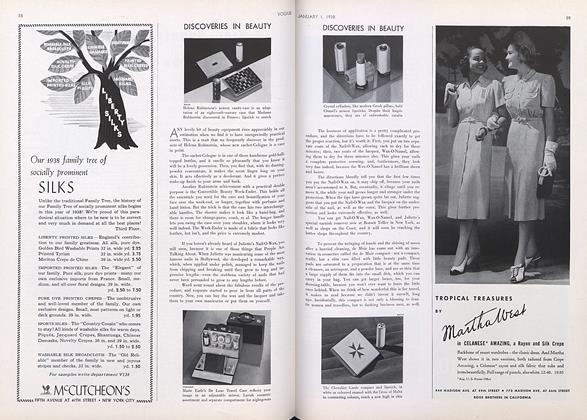 Vanity Case by Helena Rubenstein/De Luxe Travel Case by Marie Earle...