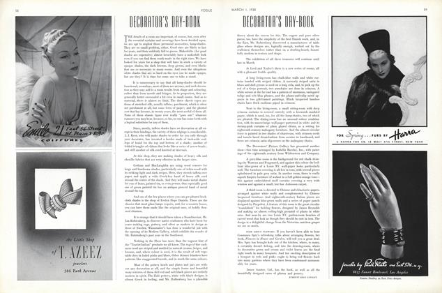 Decorator's Day-Book