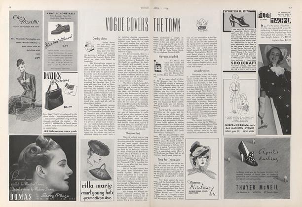 Vogue Covers the Town
