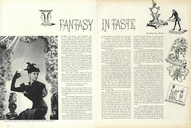 Fantasy in Taste