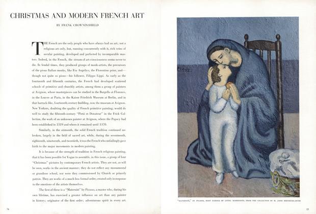 Christmas and Modern French Art