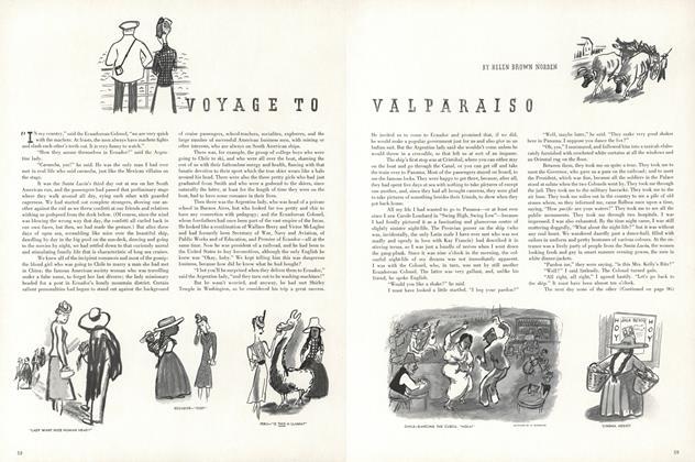 Voyage to Valparaiso