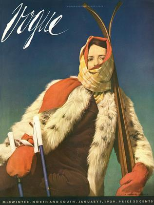 Cover for the January 1 1939 issue