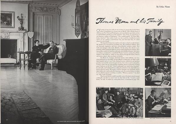 Thomas Mann and his Family