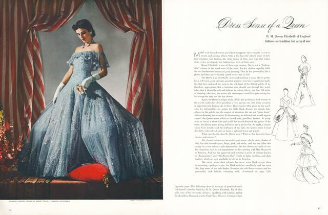 Dress Sense of a Queen