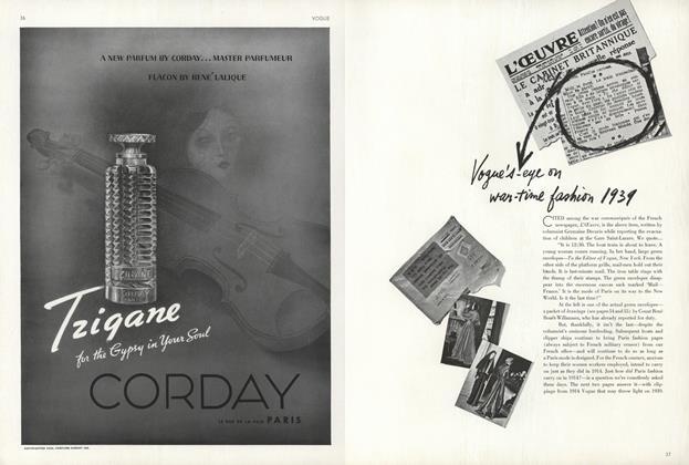 War-Time Fashion 1939-1914