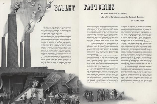 Article Preview: Ballet Factories, April 1 1940 | Vogue