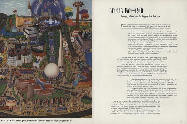 World's Fair—1940