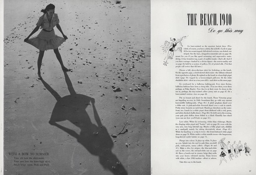 The Beach, 1940