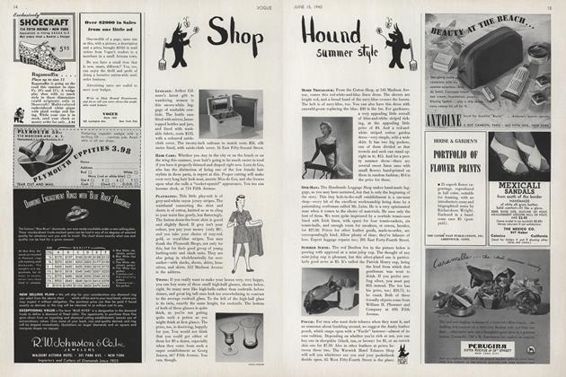 Shop Hound: Summer Style