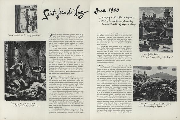 Saint-Jean de Luz–June, 1940