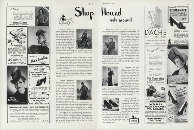 Shop Hound Gets Around