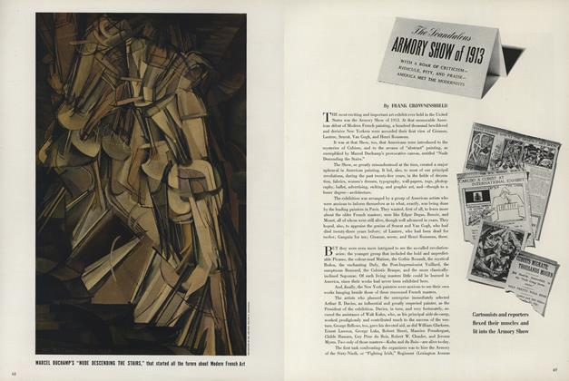 The Scandalous Armory Show of 1913