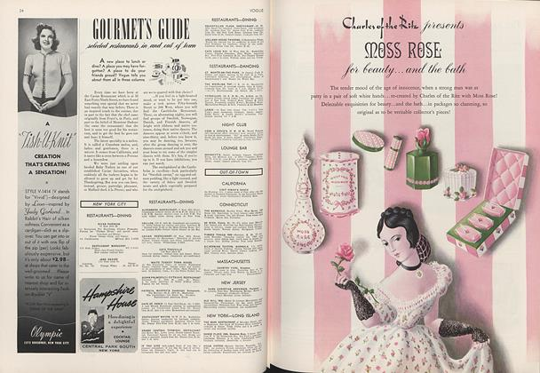 Gourmet's Guide