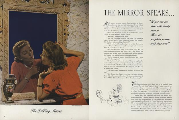 Article Preview: The Mirror Speaks, November 1 1940 | Vogue